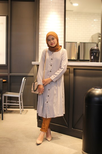 Ewha Dress Grey Reg image