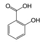Rangkaian kimia salicylic acid