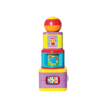 Playgro Jc Stacking Activity Tower image