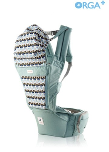 POGNAE ORGA PLUS BABY AND HIPSEAT CARRIER - Cabbage image