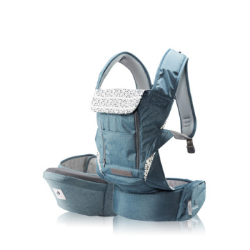 POGNAE NO. 5 PLUS Baby And Hipseat Carrier | Blue image