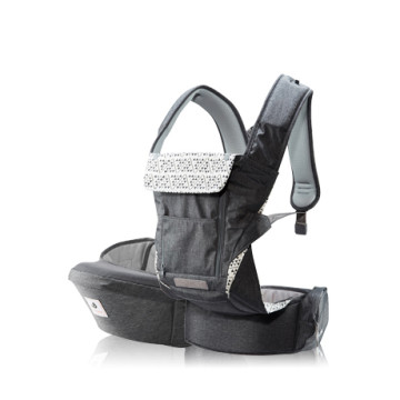 POGNAE NO. 5 PLUS Baby And Hipseat Carrier | Grey image