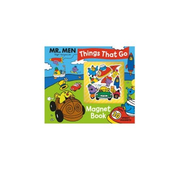 Mr. Men : Things That Go Magnet Book | 6-23 Months image