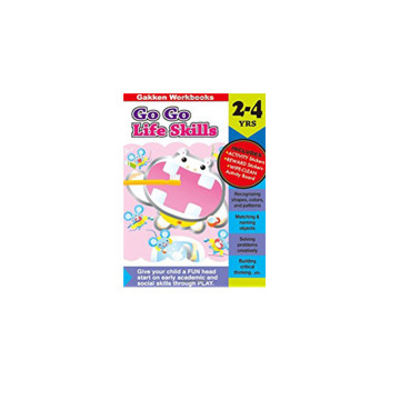 Gakken Go Go Life Skills 2-4 Years Book | 24-47 Months image