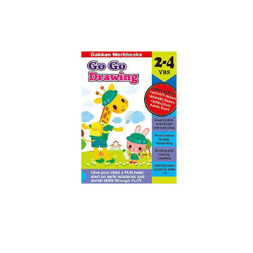 Gakken Go Go Drawing 2-4 Years Book   24-47 Months image