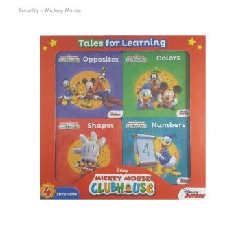 N-Disney Mickey Mouse 4 Books Box Set | 24-47 Months image