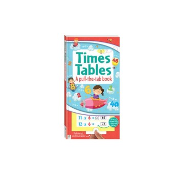 Times Tables Book A Pull The Tab Book | 24-47 Months image