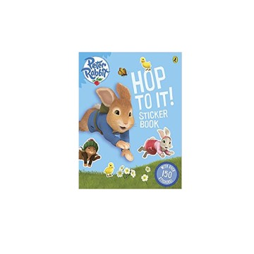 D-Peter Rabbit: Hop To It Sticker Book | 24-47 Months image