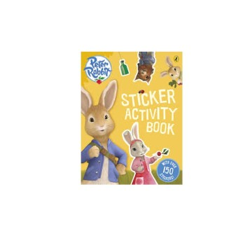 D-Peter Rabbit: Sticker Activity Book | 24-47 Months image