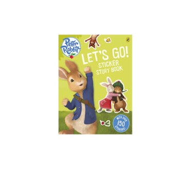 D-Peter Rabbit: Lets Go Sticker Book | 24-47 Months image