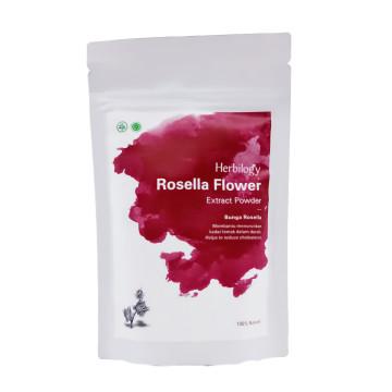 Herbilogy Rosella Powder 100gr | Bubuk Herbal image
