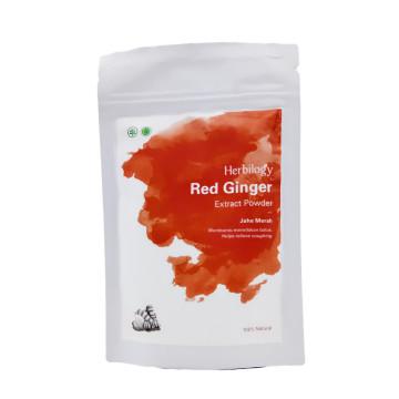 Herbilogy Red Ginger / Jahe Merah Powder 100gr | Bubuk Herbal image