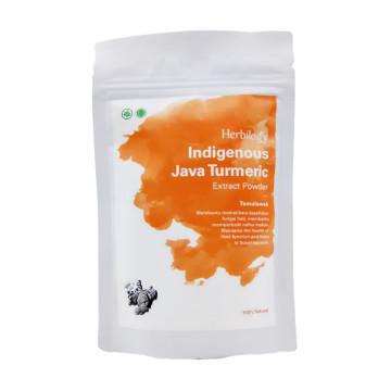 Herbilogy Java Turmeric / Temulawak Powder 100gr | Bubuk Herbal image