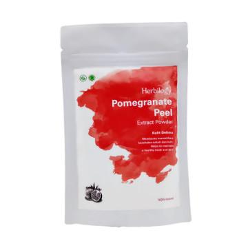 Herbilogy Pomegranate Peel / Kulit Delima Powder 100gr | Bubuk Herbal image