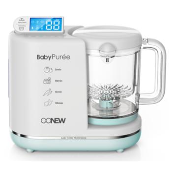 OONEW Baby Puree 6 in 1 Baby Food Processor | Green Honey image