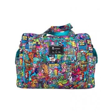 Jujube Be Prepared Kaiju City / Diaper Bag image