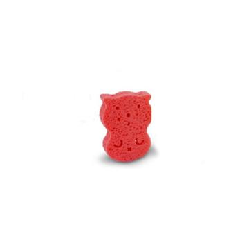 ATO N O2 Nature Baby Bath Sponge Pink / Sponge Mandi 1pcs image