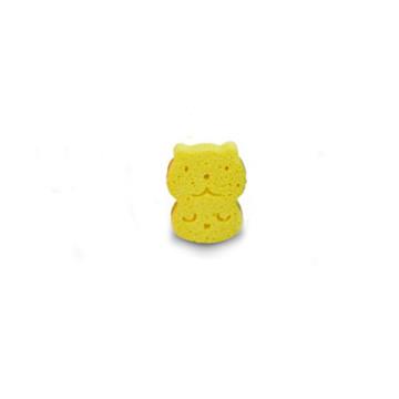ATO N O2 Nature Baby Bath Sponge Yellow / Sponge Mandi 1pcs image