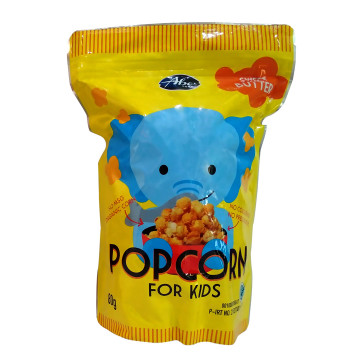 Popcorn Abefood Sweet Butter 80 gram | Snack Anak image