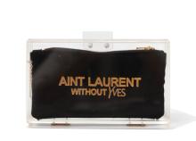 Basic Perspex Clutch - Laurent