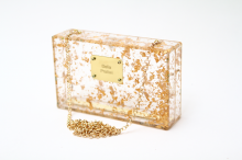 The Gold Flakes - Bespoke Front Plaque