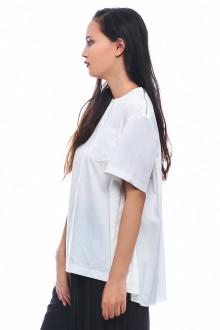 White Swinging Back Cotton Top