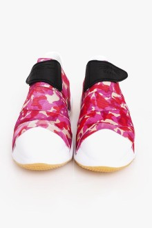 Pink Camo Strap Shoes