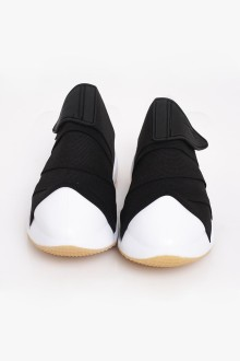 Black Strap Shoes