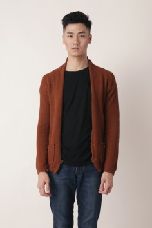 Brown Knit Cardigans
