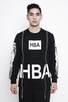 Black Xray Zip Sweatshirt