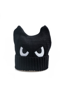Black Monster Beanie