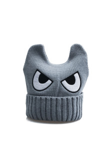 Grey Monster Beanie