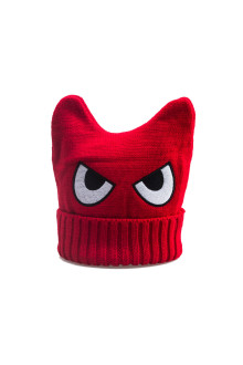 Red Monster Beanie
