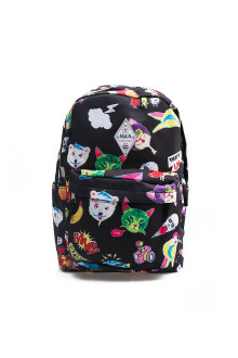 Black Icon Backpack