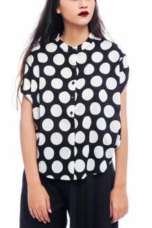 Black Yayoi Shirt