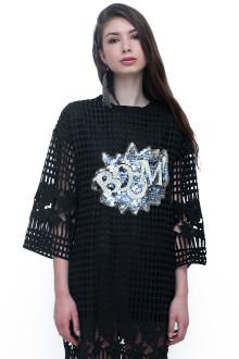 Black Boom Lace Dress