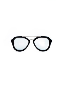 Silver Lense Bold Aviator Sunglasses