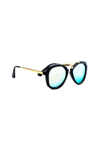 Yellow Lense Bold Aviator Sunglasses