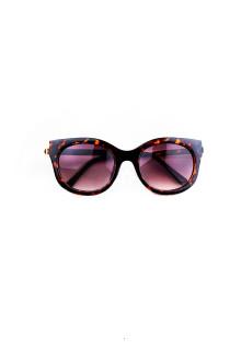 Brown Bold Cat Eye Sunglasses