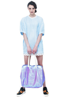 Purple Hologram Bag