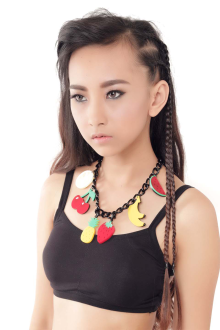 Fruity necklace