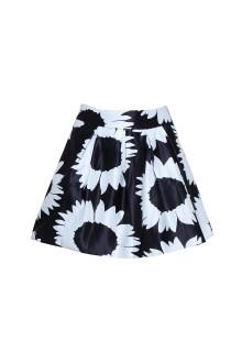 Mini Flare Floral Skirt