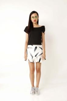 White Feather Mermaid Skirt