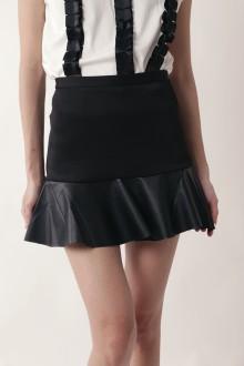 Black Mini Mermaid Skirt