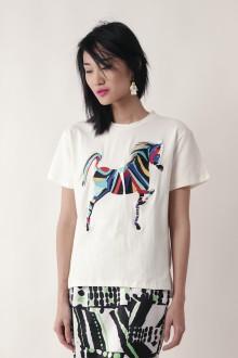 White Cheval Tee Shirt
