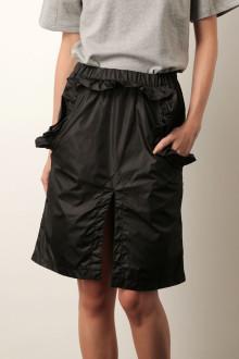 Black Parachute Skirt