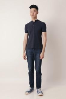 Black Shanghai Tang Polo Shirt