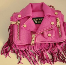 Pink Jacket Bag
