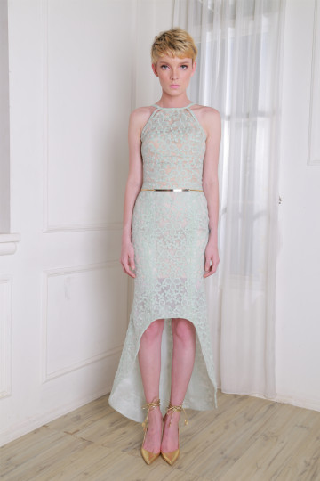 Serena Skirt Color Green Pastel image