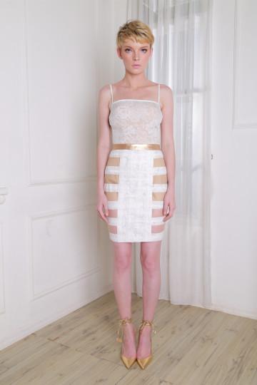 Diana Skirt White image